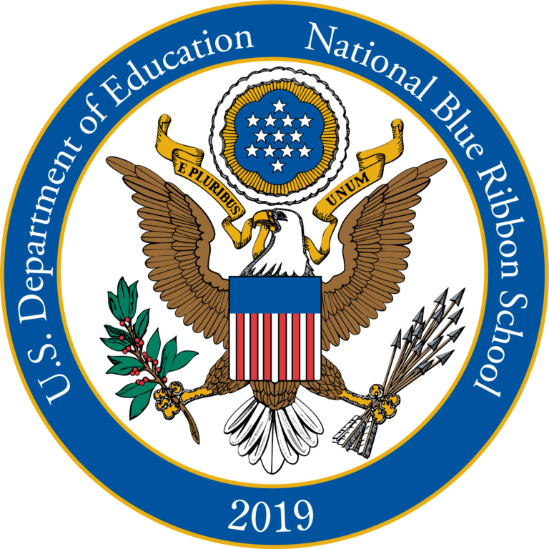 U S department of education national blue ribbon school award 2019
