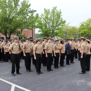 a group of new dma cadets